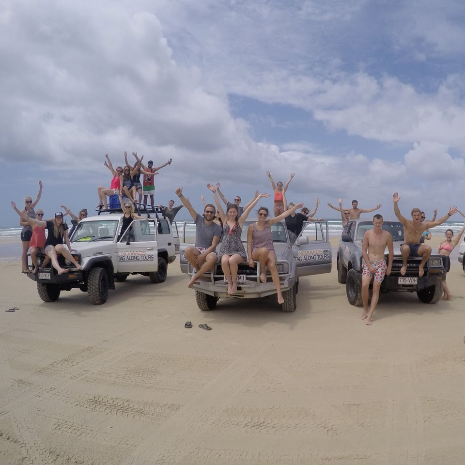 Fraser Island: Fraser Island Tag Along Tour Safari From Noosa