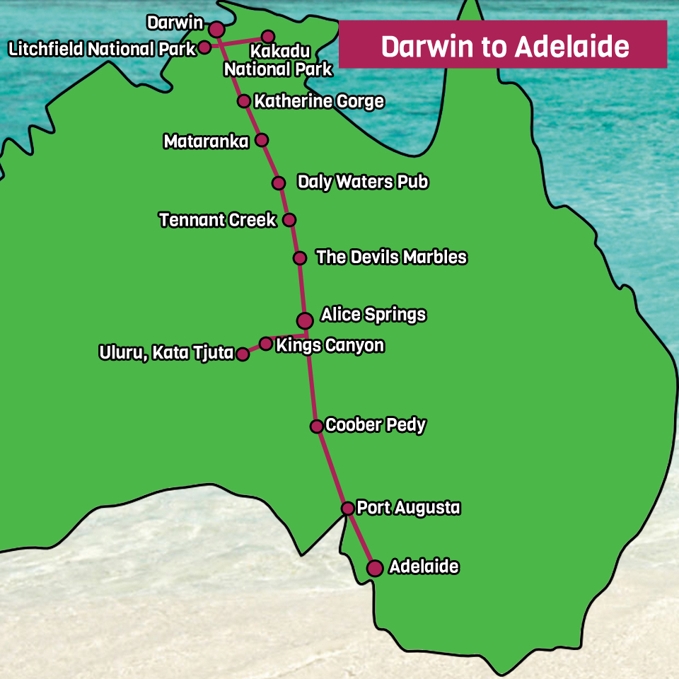 darwin to adelaide adventure tour cheap as chips. Black Bedroom Furniture Sets. Home Design Ideas