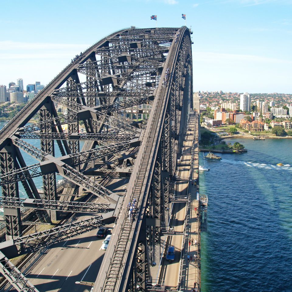 sydney harbour bridge Enjoy sydney harbour bridge climb as part of your tailor-made vacation to australia get in touch with one of audley's specialists to start planning your perfect trip.