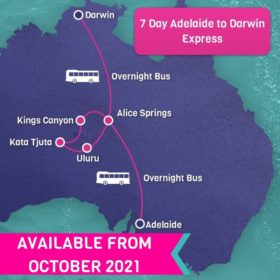 7 Day Adelaide to Darwin Express
