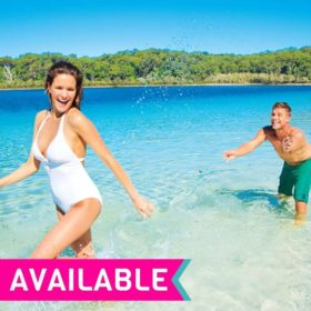 2 Days 1 Night Fraser Island Fully Guided Tour from Hervey Bay!