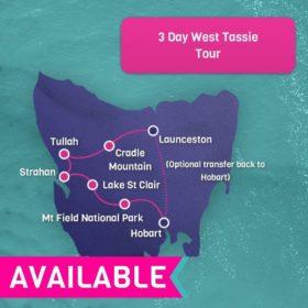 3 Day West Tassie Tour