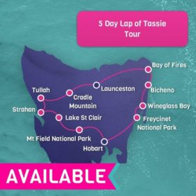 5 Day Lap of Tassie - Hobart Return
