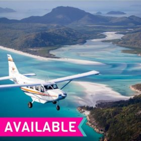 Scenic Flight over the Whitsunday Islands and Reef