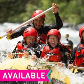 Extreme Package: Rafting + Bungy Including 3 nights Accommodation!