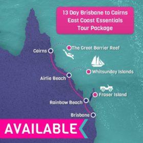 Brisbane to Cairns East Coast Essentials -13 Days