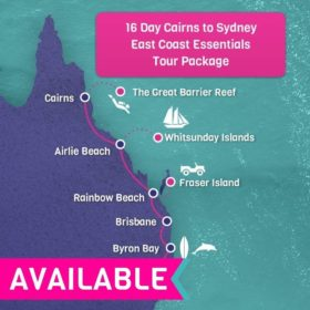 Cairns to Sydney East Coast Essentials Tour Package 16 Days