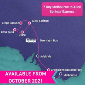 7 Day Melbourne to Alice Springs Express