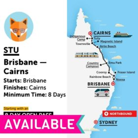 Stray Australia Brisbane to Cairns Stu Bus Pass