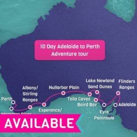 10 day Adelaide to Perth Ultimate Adventure