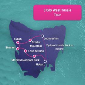 West Tassie Tour 3 day