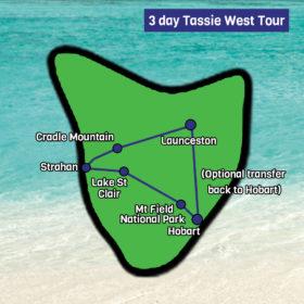 tassie west tour