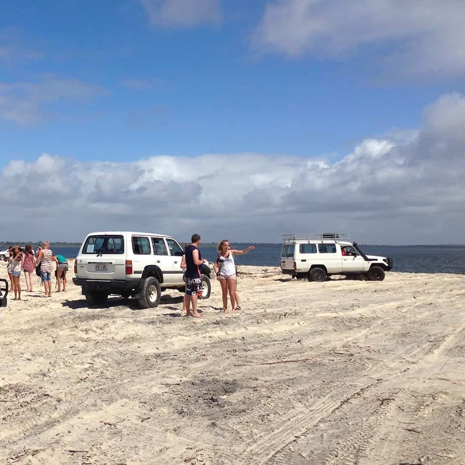 4wd adventure fraser island tours