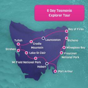 6 Day Tasmania Explorer - Hobart Return