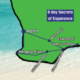 Secrets of Esperance Map