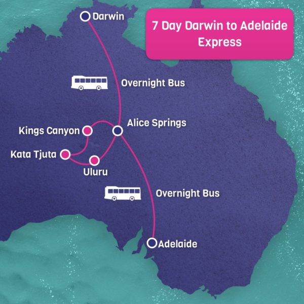 Express Darwin to Adelaide Express