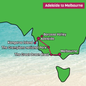Adelaide to Melbourne Tour