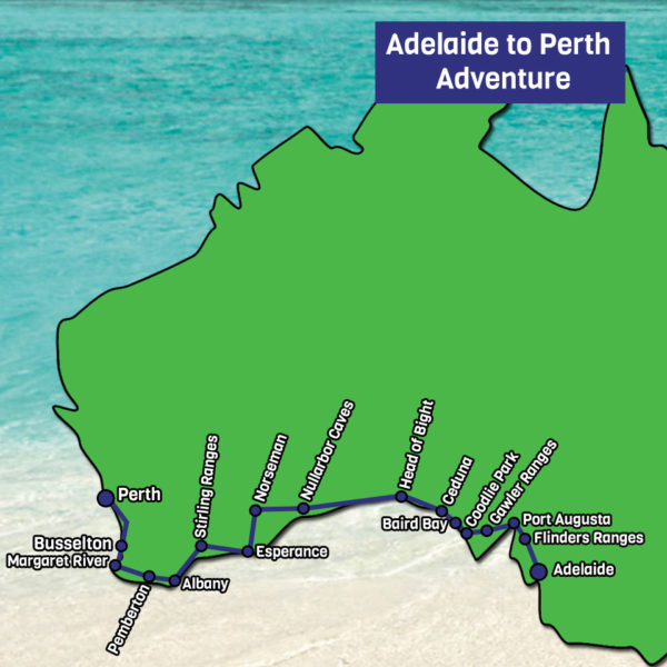 Adelaide to Perth
