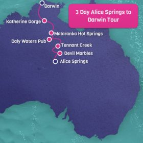 3 Day 2 Night Alice Springs to Darwin Cicada Tour