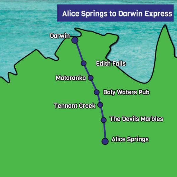 Alice Springs to Darwin