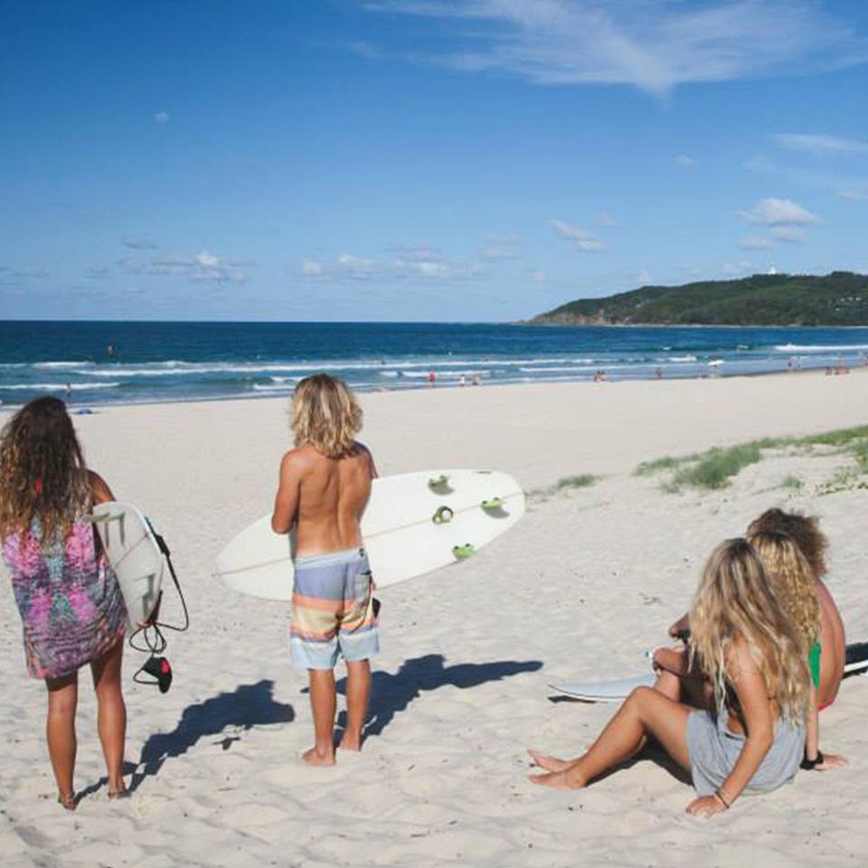 Beach Front Byron Bay Backpackers Inn