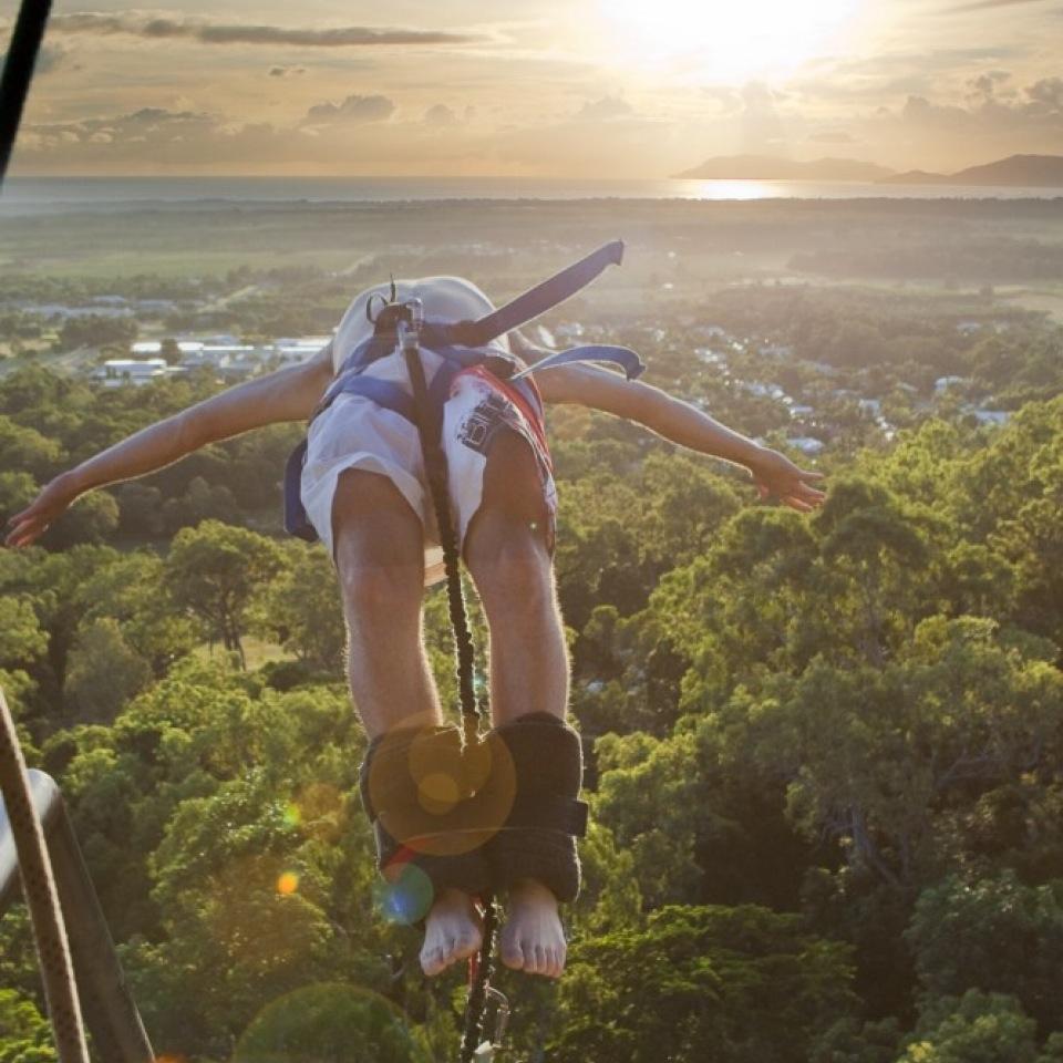 Aj Hackett Bungy Jump Cairns