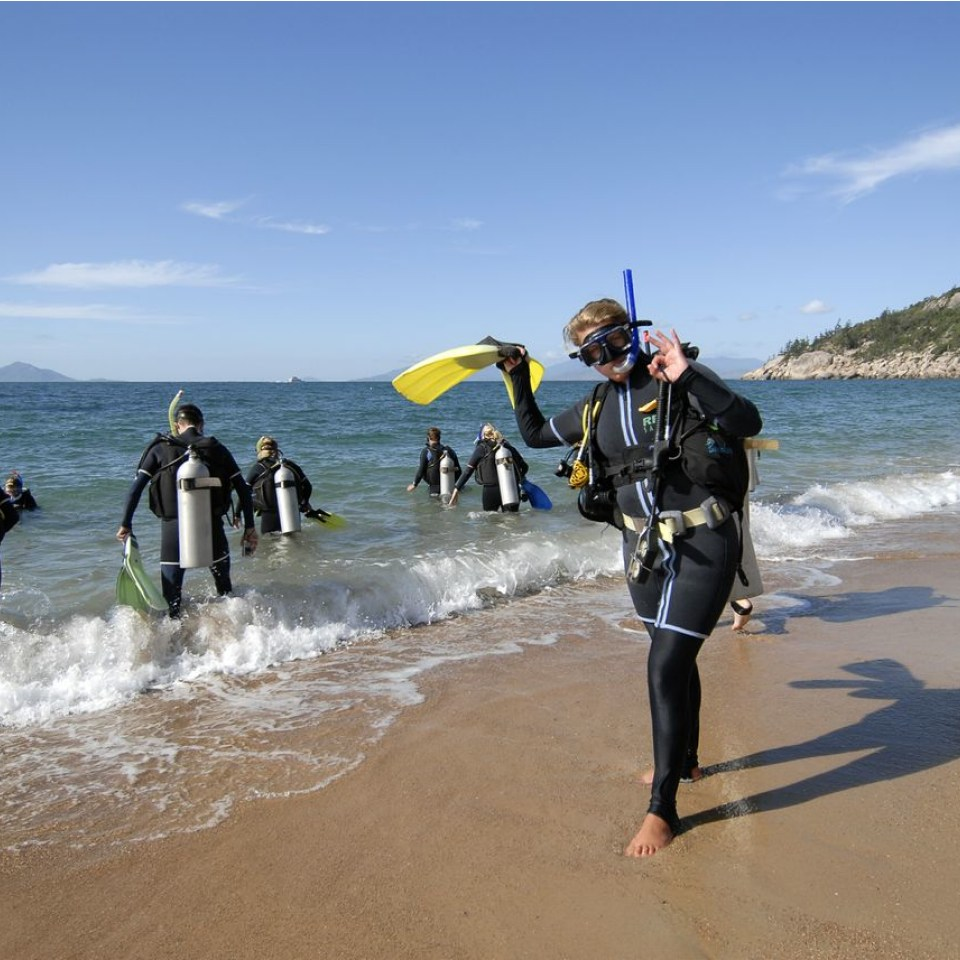 Open Water Dive Course Magnetic Island