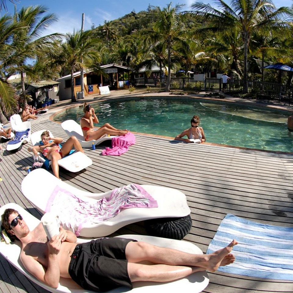 Poolside Base Magnetic Island
