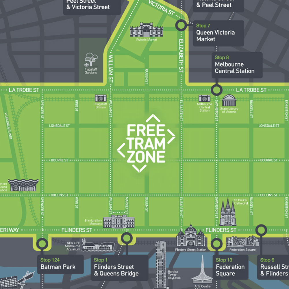 How Do Melbourne Trams Work One Stop Adventure Tours