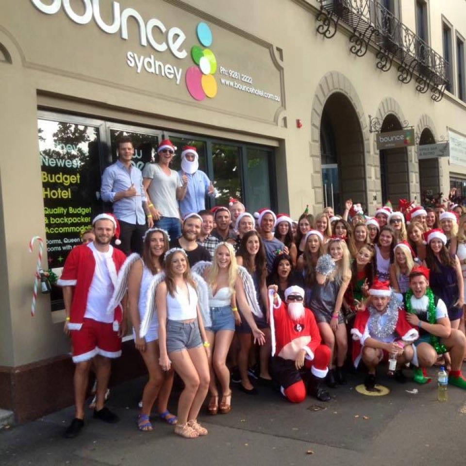 Christmas Sydney Bounce