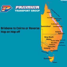 Premier Sydney to Cairns or Reverse Hop on Hop off Bus Pass