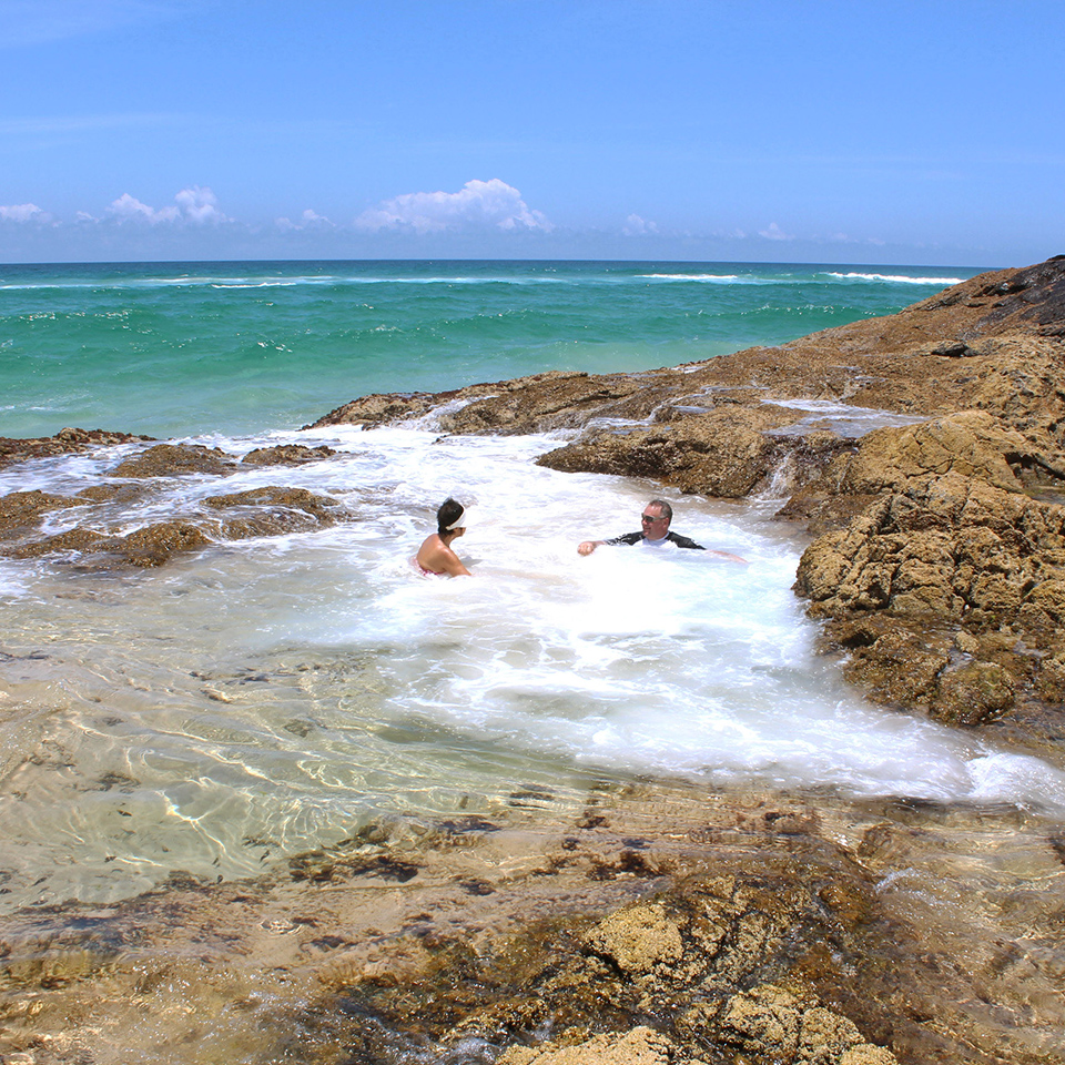 fraser island tours champagne pools