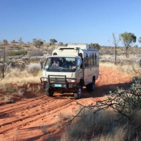4 day Red Centre 4wd Adventure