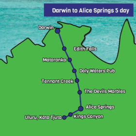 Darwin to Alice Springs