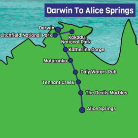 Darwin to Alice Map