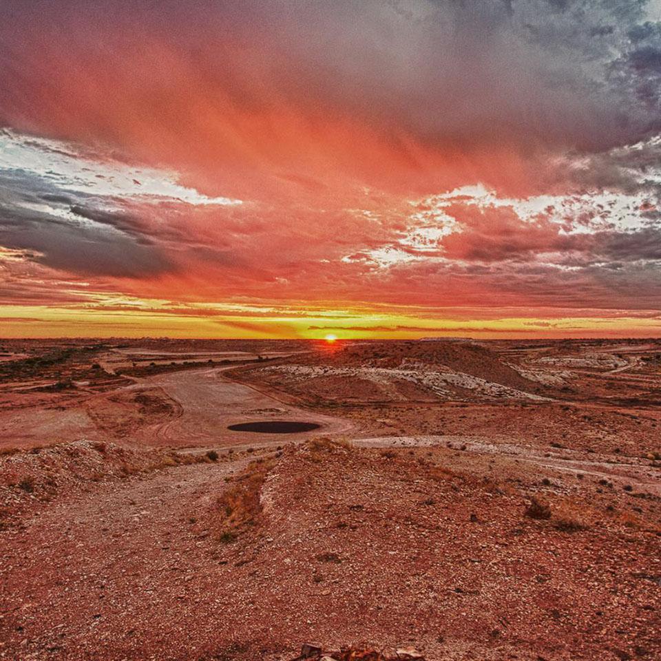 South Australia Tour Cooper Pedy Landscape