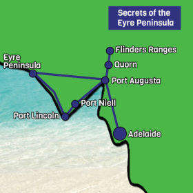 secrets of the Eyre Peninsula