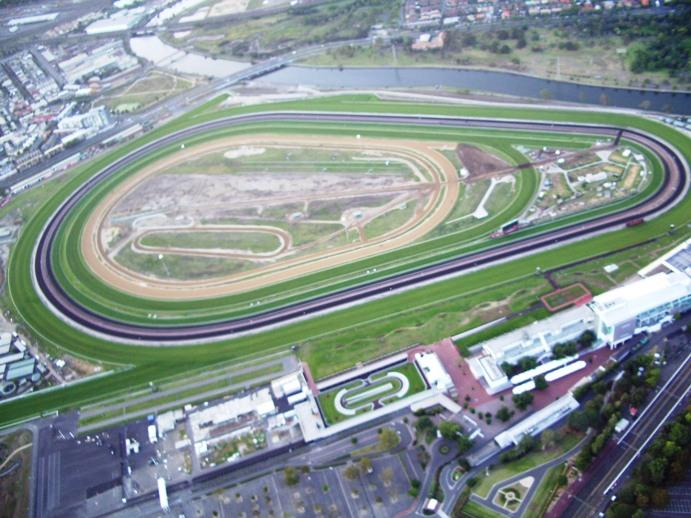 Racecourse Flemington Melbourne