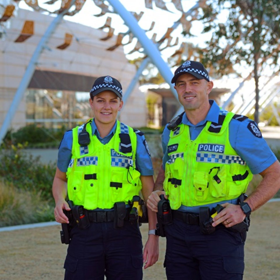 Police Australia Friendly