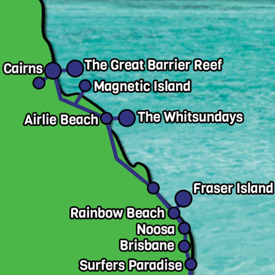 Cairns Gold Coast Express
