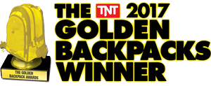 Golden backpack Winner