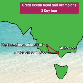 3 day Great Ocean Road Tour