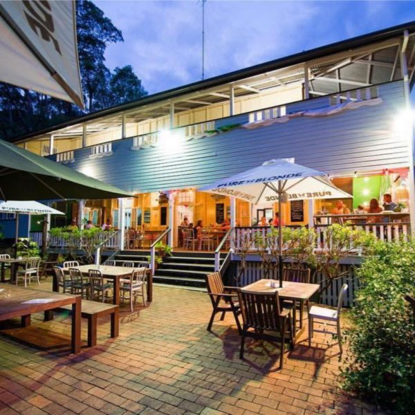 bar and restaurant Halse Lodge Noosa