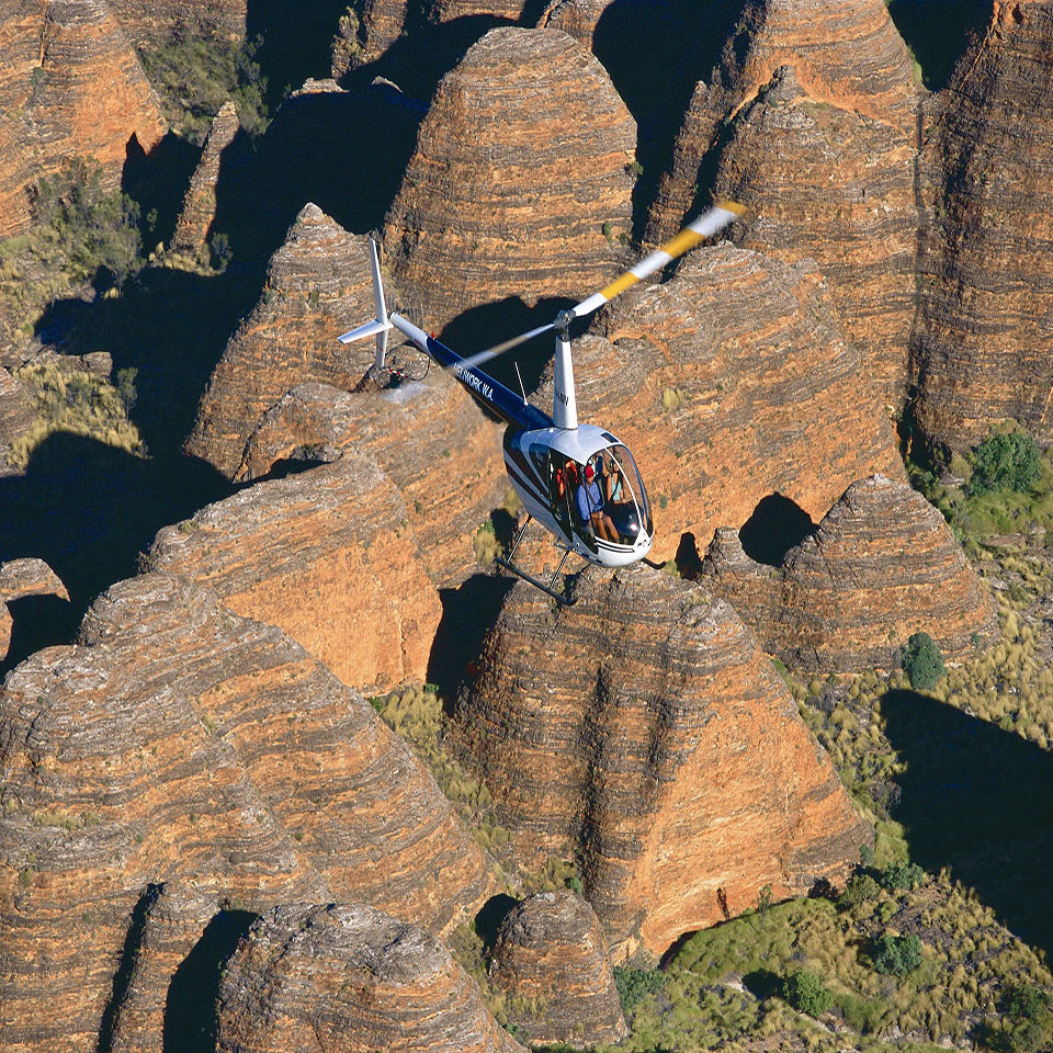 One stop adventures Purnululu helicopter ride
