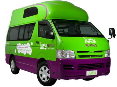 Jucy Camper Van