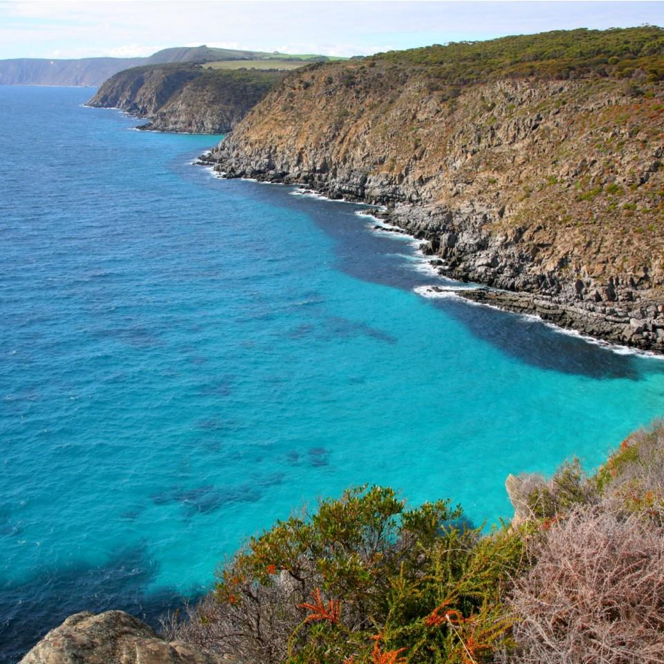 Coastline Kangaroo Island