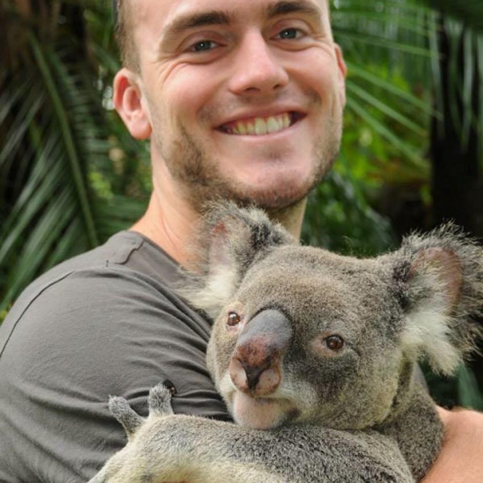 Australia Zoo Koala Cuddle