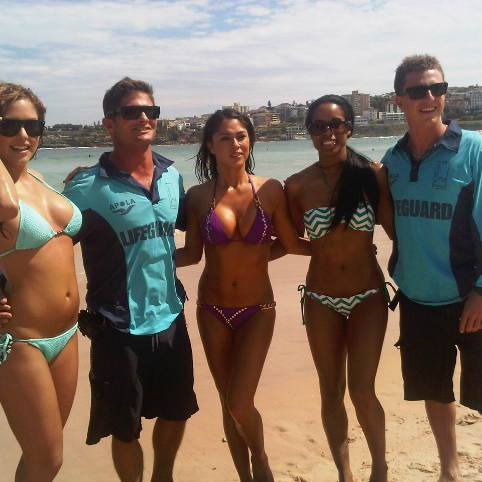 Bondi Rescue Lifeguard Photo