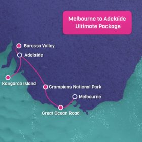 6 Day Melbourne to Adelaide Ultimate Package