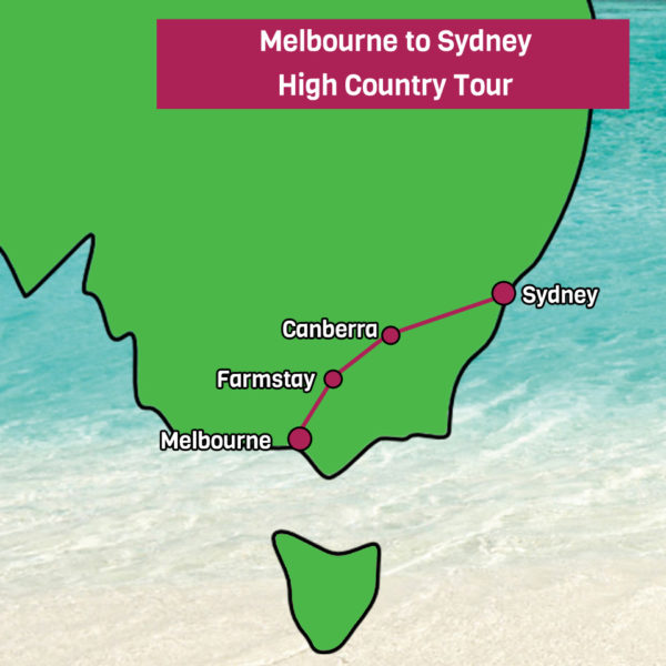 Melbourne to Sydney Tour